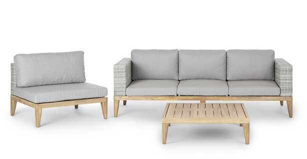 Urba Beach Sand Sofa Set - Article