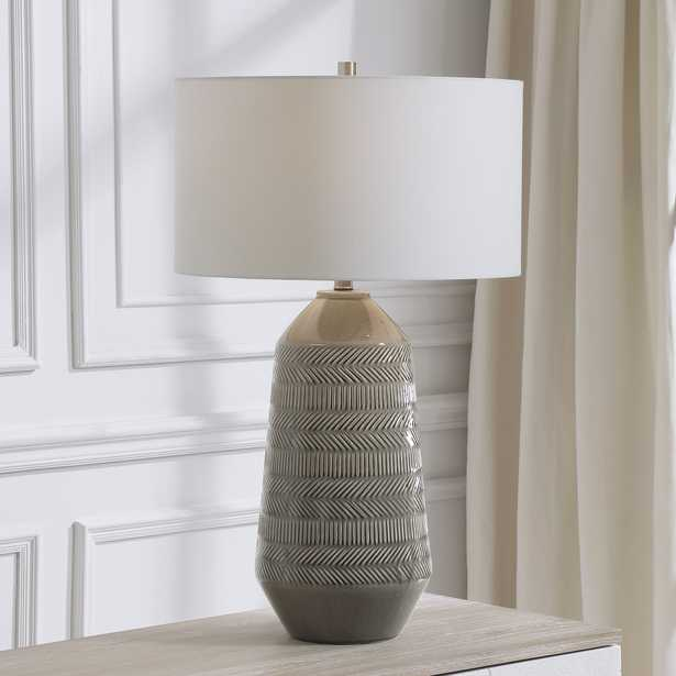 Rewind Gray Table Lamp - Hudsonhill Foundry