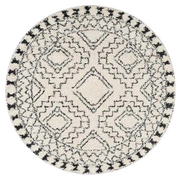 "Vasiliki Moroccan Tribal Tassel Off White 7'10""x10' - Home Depot"