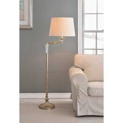 "Brampt 58"" Swing Arm Floor Lamp - Birch Lane"
