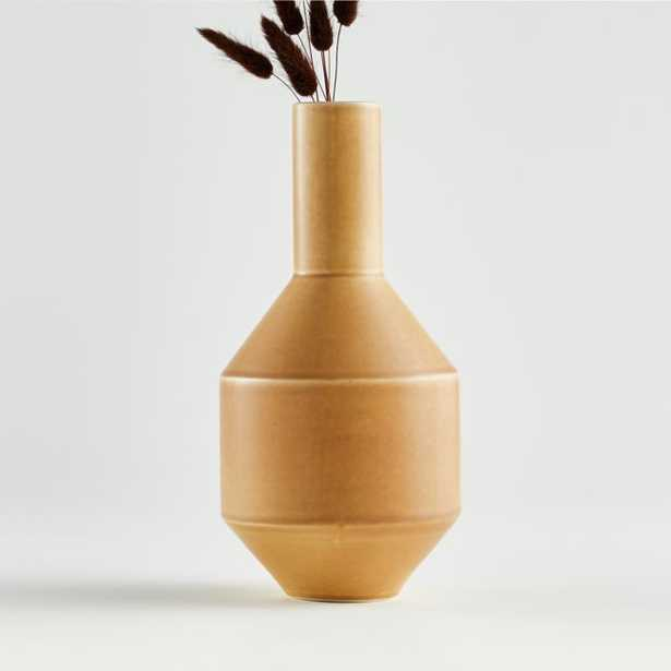 Cuyler Mustard Vase - Crate and Barrel