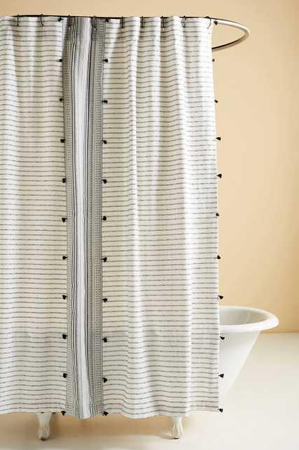 Tasseled Pendana Shower Curtain - Anthropologie