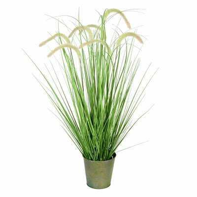 Artificial Cattail Grass in Pot - Wayfair