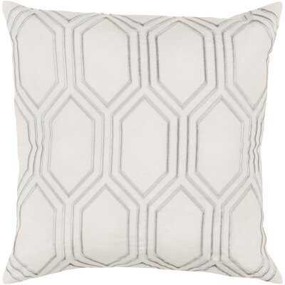 Senn Square Linen Pillow Cover & Insert - Wayfair