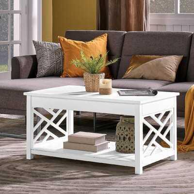 Lund Coffee Table with Storage - Wayfair
