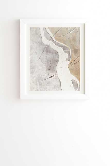 "Feels by Alyssa Hamilton Art - Framed Wall Art Basic White 12"" x 12"" - Wander Print Co."