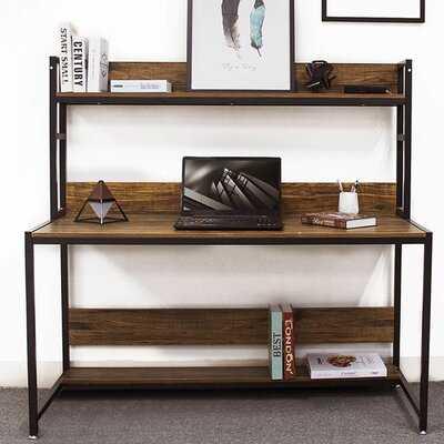 Desk With Cabinet Office Cabinet Desk Bookcase - Wayfair