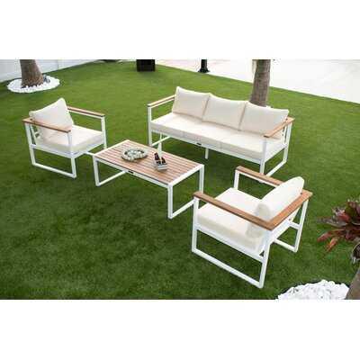 Panama Jack Dana Point 4-Piece Seating Set - Wayfair