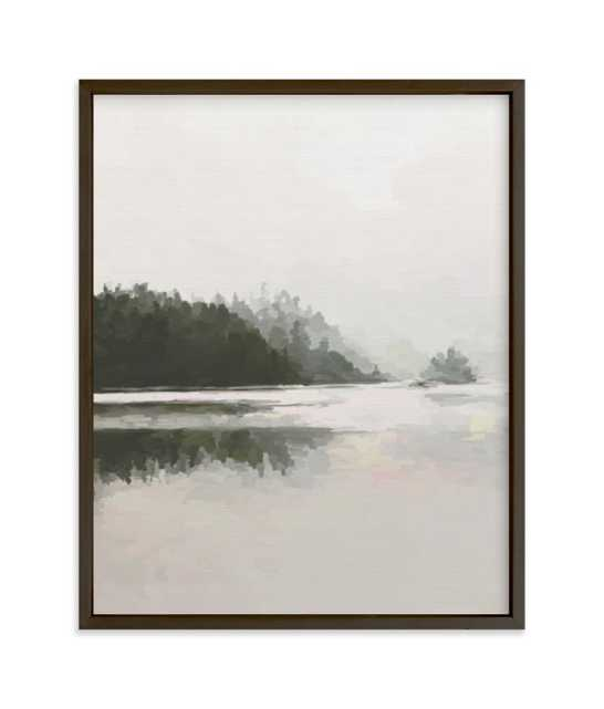 LakeView II Art Print - Minted
