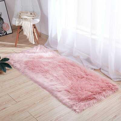 Union City Pink Area Rug - Wayfair