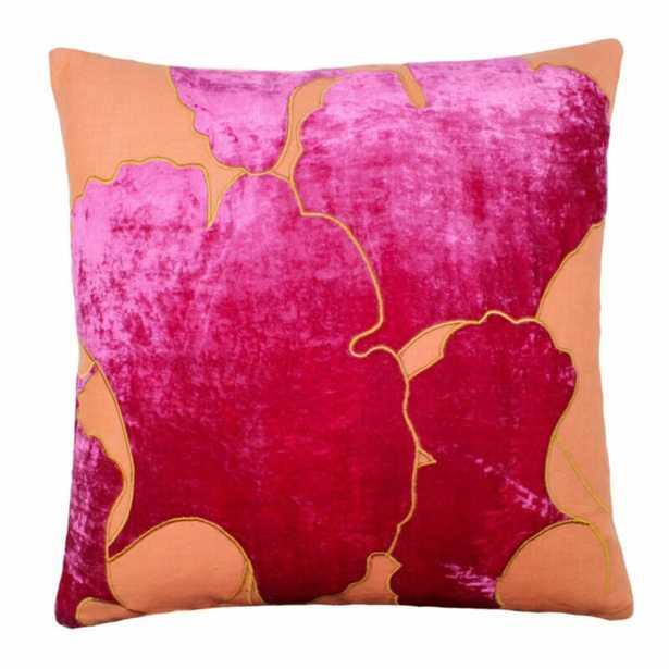 Tourmaline Home Ginko Leaf Throw Pillow - Perigold