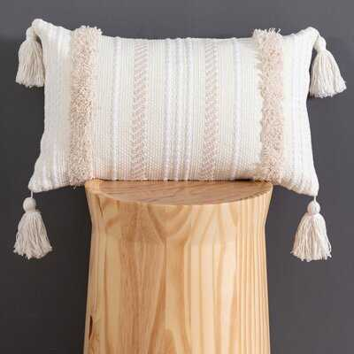 Maulik Striped Lumbar Pillow Cover - Wayfair