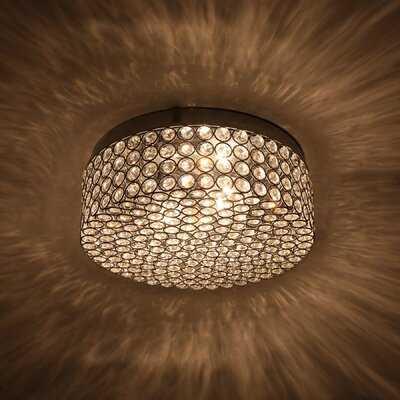 "Westerfield 2 - Light 12"" Sputnik Drum Flush Mount - Wayfair"