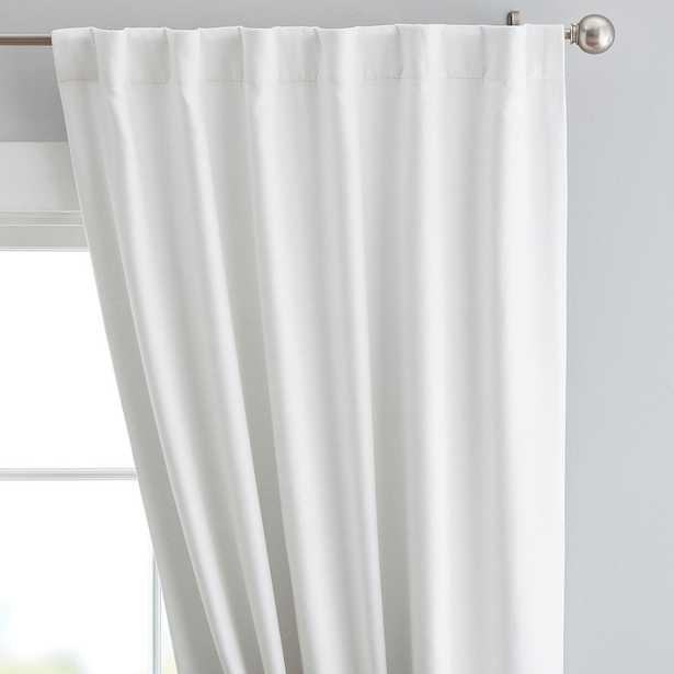 "Cotton Chenille Curtain Panel, 44"" x 96"", Ivory Set of 2 - Pottery Barn Teen"