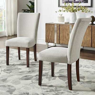 Lancaster Upholstered Dining Chair -Set of 2 - Wayfair