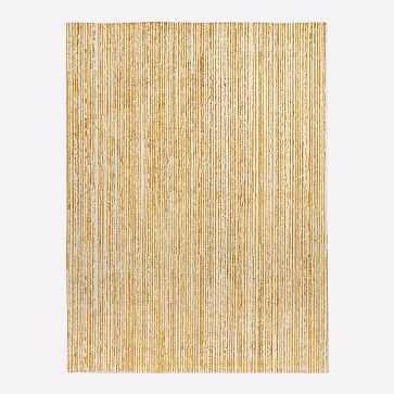 Shine Lines Rug, 6'x9' Golden Oak - West Elm
