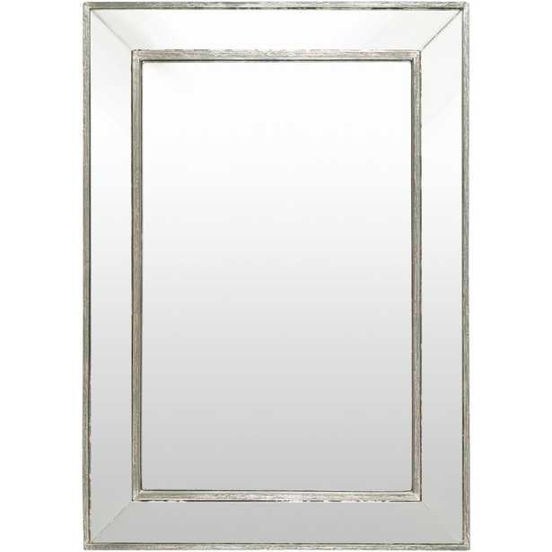 Pieter 40 in. x 28 in. Traditional Framed Mirror - Home Depot