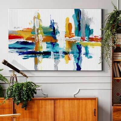 Captive Color III - Wrapped Canvas Painting Print - Wayfair
