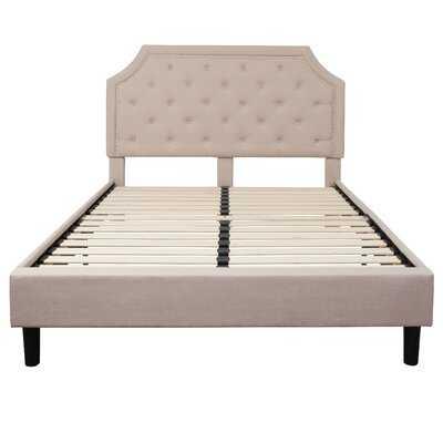Brighton Tufted Upholstered Platform Bed - Wayfair