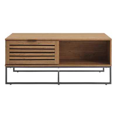 Nena Coffee Table with Storage - AllModern