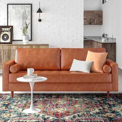 Hailee 84'' Genuine Leather Sofa - AllModern