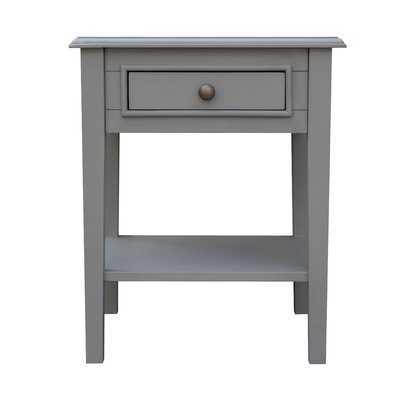 Schrum End Table with Storage - Wayfair