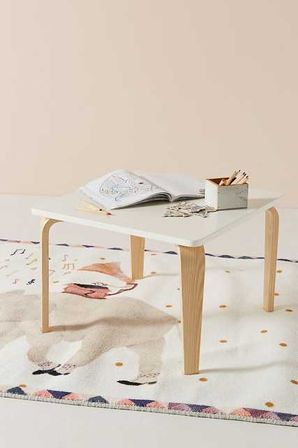 Tamsin Kids Play Table By Anthropologie in White - Anthropologie