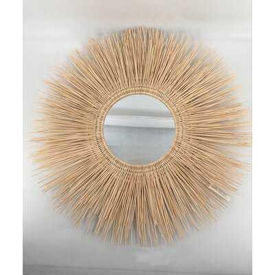 Guisborough Rattan Accent Mirror. Set Of 2 Mirrors - Wayfair
