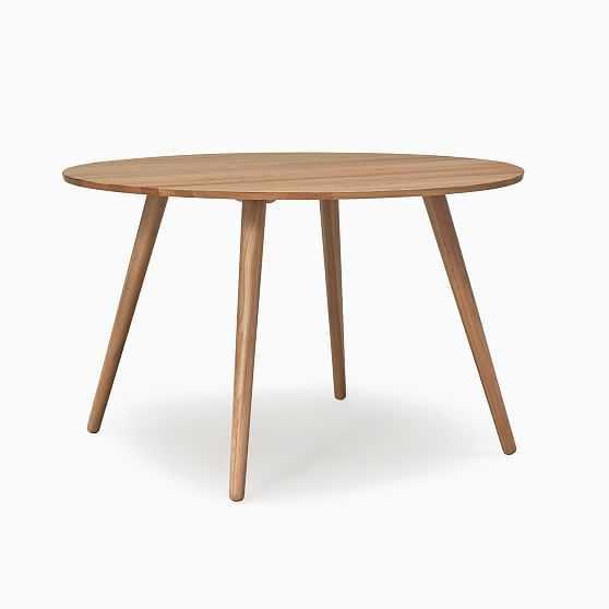 Aurora Oval Dining Table Oak 47 in - West Elm