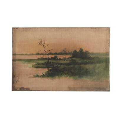'Landscape Vintage Reproduction' - Unframed Print on Canvas - Wayfair