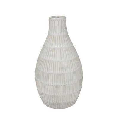Domingue Ceramic Tribal Look Table Vase - Wayfair
