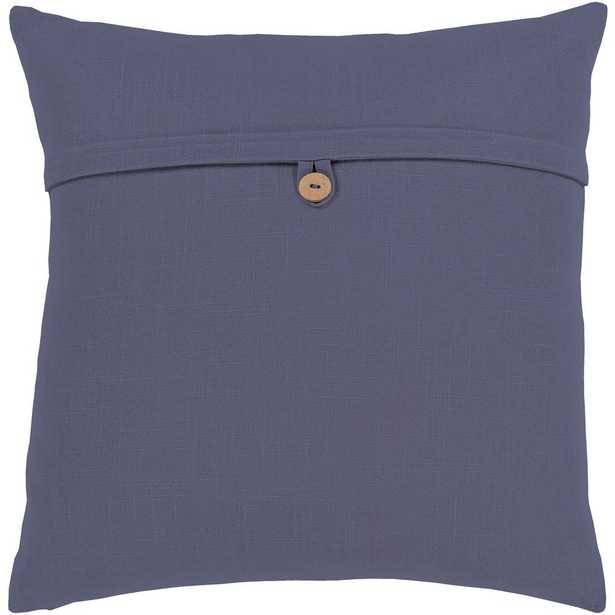 Artistic Weavers Zinon Navy 18 in. x 18 in. Poly Throw Pillow, Blue - Home Depot