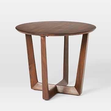 Stowe Side Table, Dark Walnut - West Elm