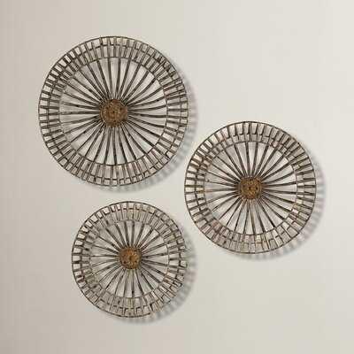 Metal Disc Wall Decor Set - AllModern