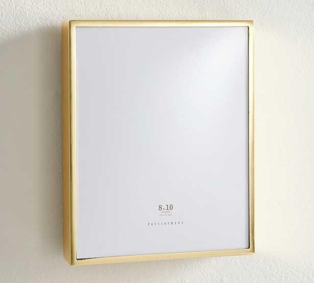 "Hagen Picture Frame, Brass, 8"" x 10"" - Pottery Barn"