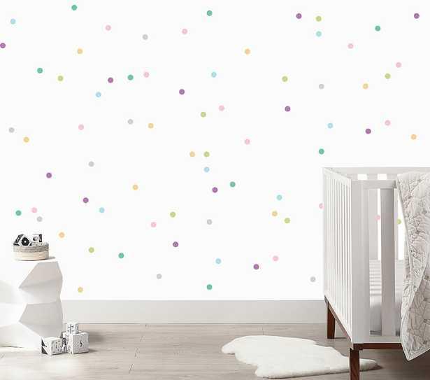 Urban Walls Mini Pastel Confetti Dots Wall Decals - Pottery Barn Kids
