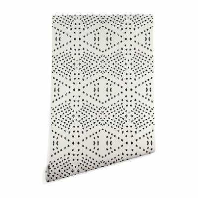 Tile Matte Smooth Peel and Stick Wallpaper Roll - AllModern