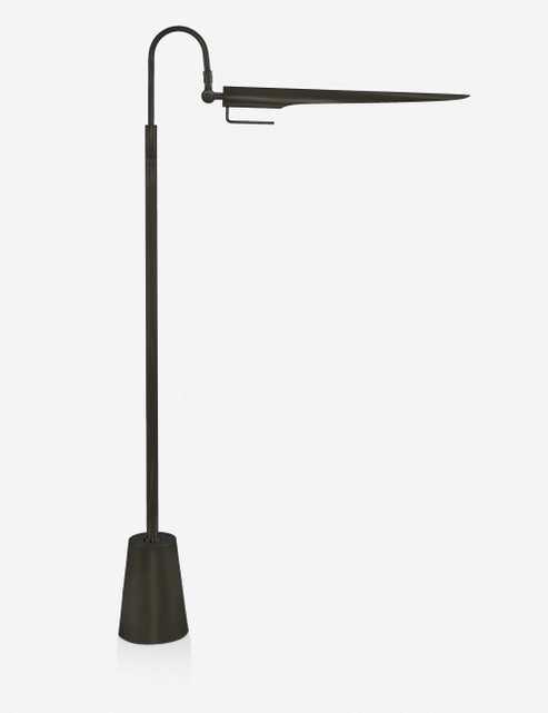 Regina Andrew Raven Floor Lamp, Oil Rubbed Bronze - Lulu and Georgia