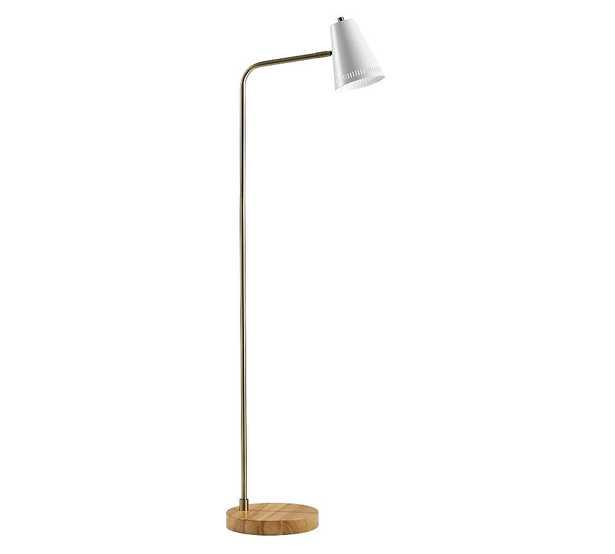 Weatherford Wood Floor Lamp - Pottery Barn