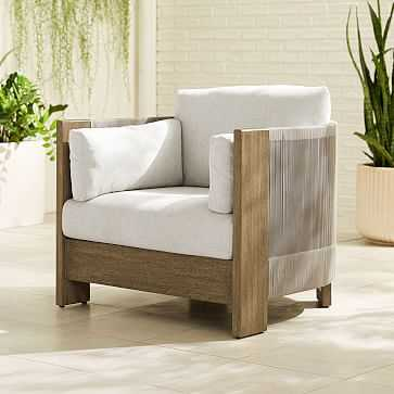 Porto Lounge Chair, Individual - West Elm