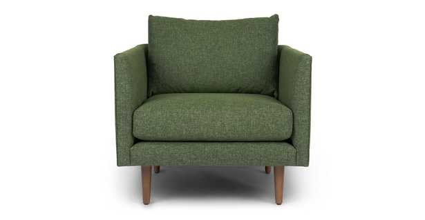 Burrard Forest Green Chair - Article