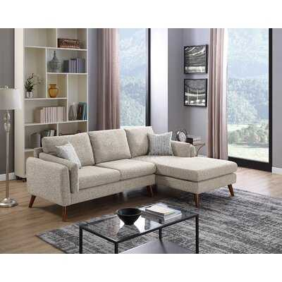 Ahmed Right Facing Stationary Sectional - Wayfair