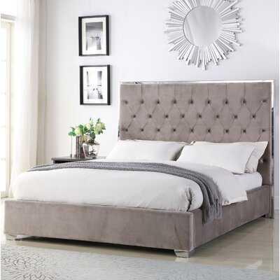 Hungerford Upholstered Platform Bed - Wayfair