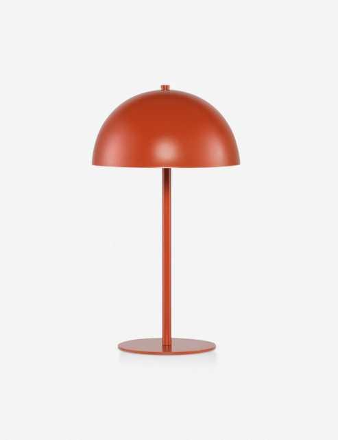 Luz Table Lamp, Terracotta - Lulu and Georgia