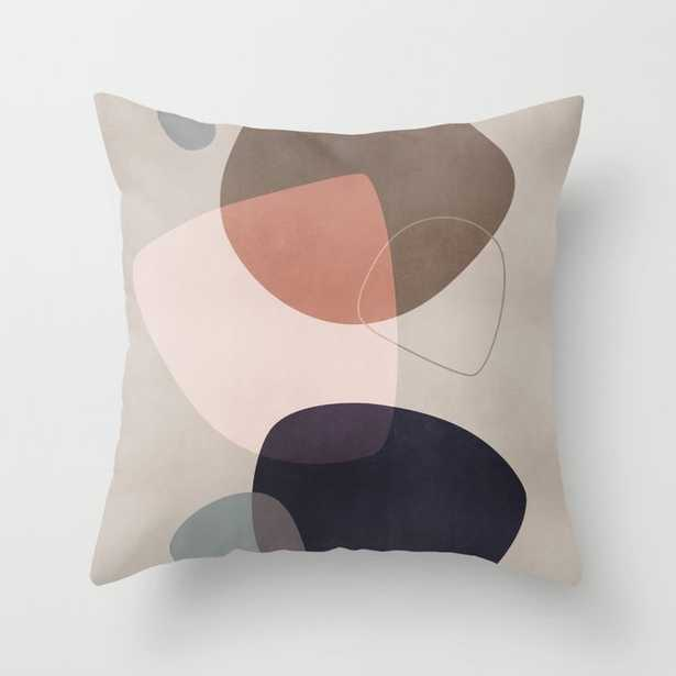 """Graphic 209y Couch Throw Pillow by Mareike BaPhmer - Cover (18"""" x 18"""") with pillow insert - Outdoor Pillow - Society6"""