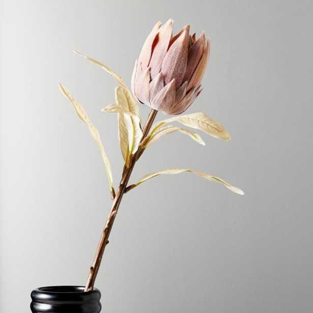 Faux Pink Protea Stem - CB2