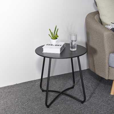 Bertradis Metal Side Table (indoor/outdoor) - Wayfair