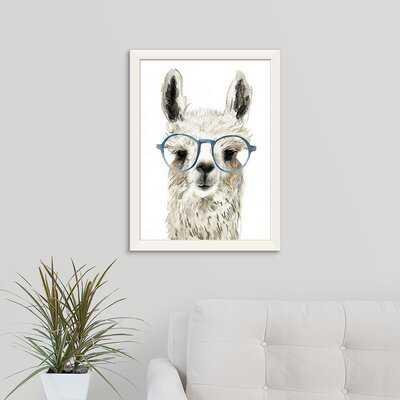 Novogratz 'Calculating Llama I' Framed Painting Print - Wayfair