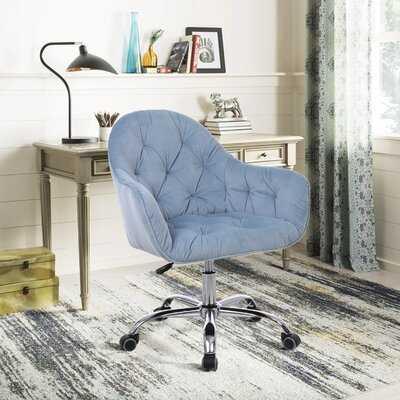 Tobiah Velvet Task Chair - Wayfair