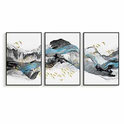 Floater Frame Print on Canvas - Wayfair
